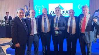 The Grimaldi Group selected Allalouf to be the Distinguished Agent of 2019  in Europe and the Mediterranean